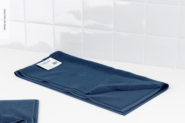 Makieta dużych ręczników