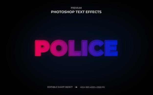 Makieta efektu policyjnego