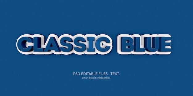 Makieta efektu stylu tekstu 3d
