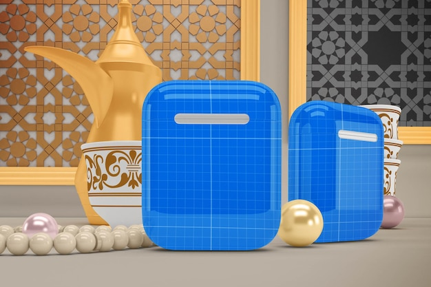 Makieta Eid Airpods V1 Premium Psd