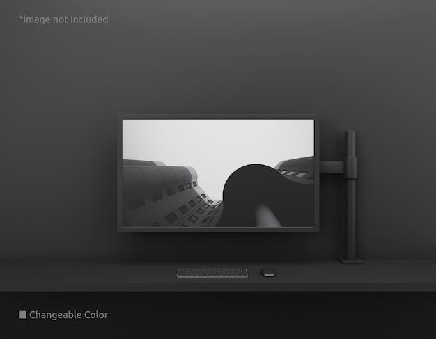Makieta ekranu komputera stacjonarnego