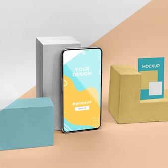 Makieta ekranu mobilnego
