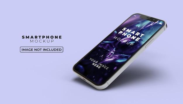 Makieta ekranu smartfona 3d
