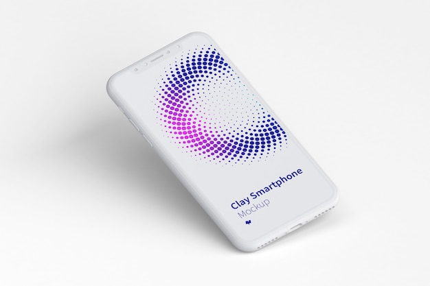Makieta ekranu smartfona