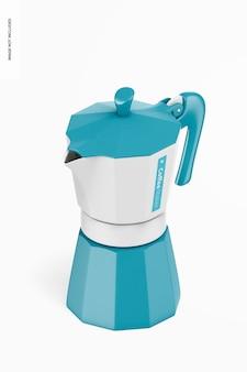 Makieta ekspresu do kawy, widok izometryczny