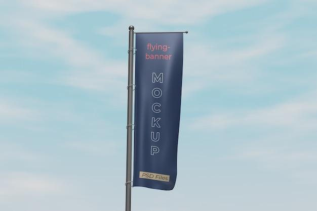 Makieta flagi promocyjnej