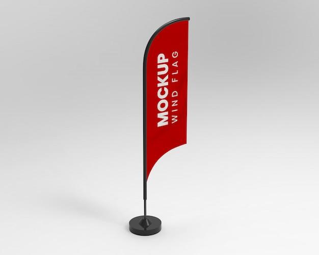 Makieta flagi wiatrowej