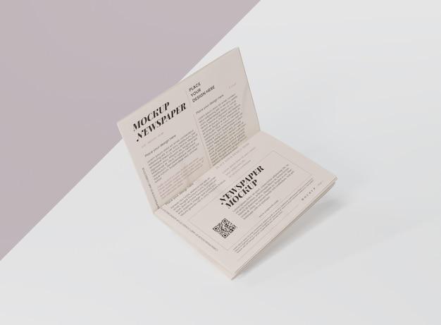 Makieta gazety medialnej