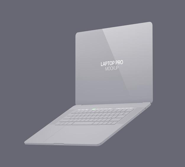 Makieta gliny laptop
