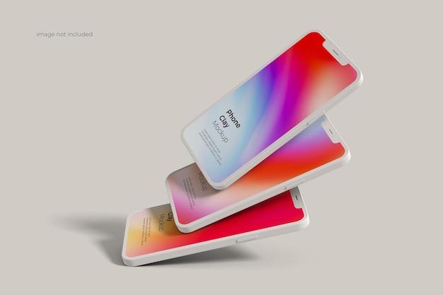 Makieta gliny smartfona