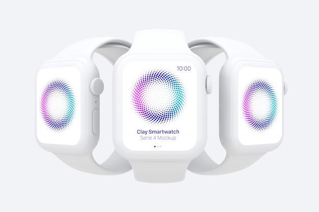 Makieta gliny smartwatch