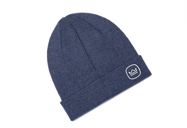 Makieta haftowanego logo czapki beanie