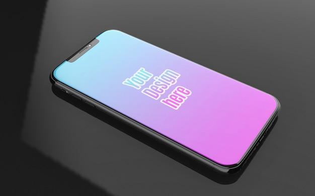 Makieta iphone