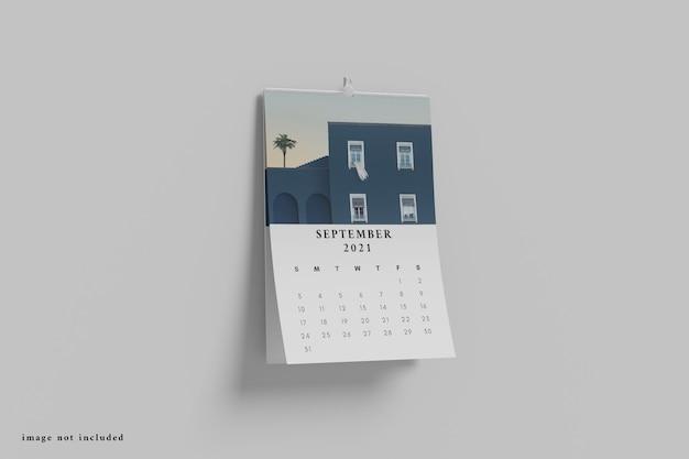 Makieta kalendarza biurkowego