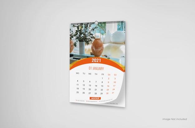 Makieta kalendarza ściennego, makieta kalendarza