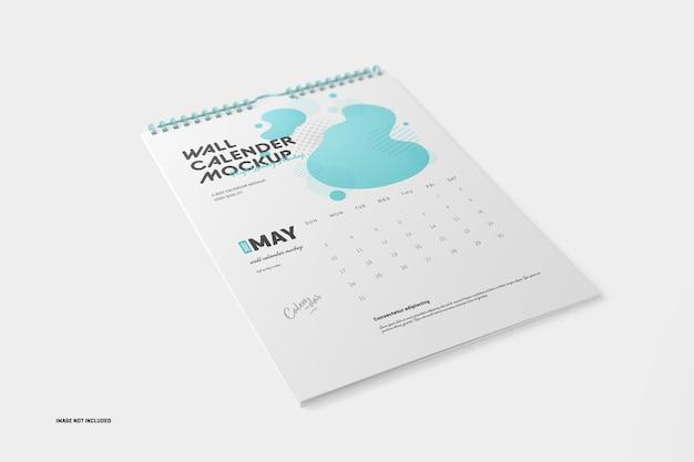 Makieta kalendarza spiralnego