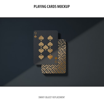 Makieta kart do gry
