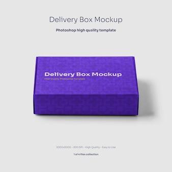 Makieta kartonowych pudełek dostawczych