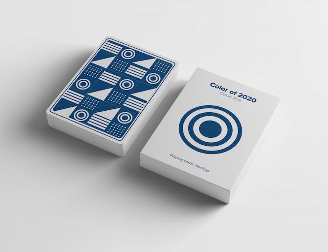 Makieta karty do gry
