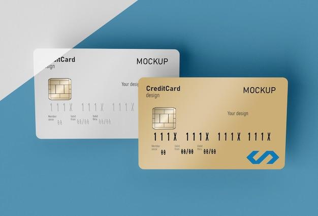 Makieta karty kredytowej