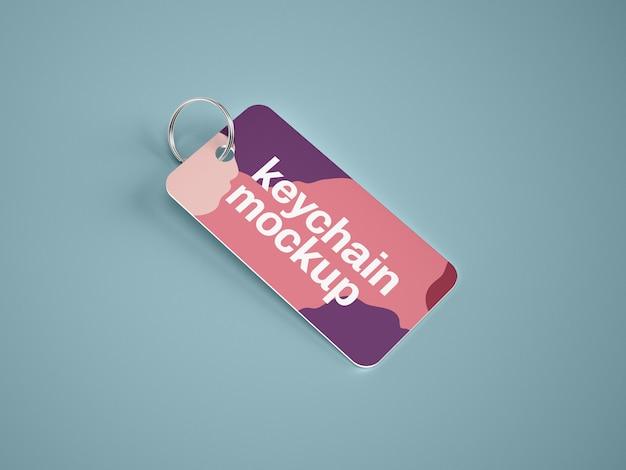 Makieta karty pęku kluczy