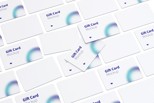 Makieta karty podarunkowej