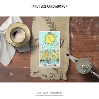 Makieta karty tarota