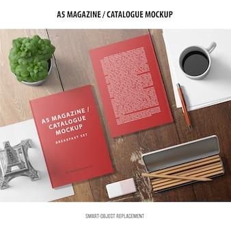 Makieta katalogu magazynu