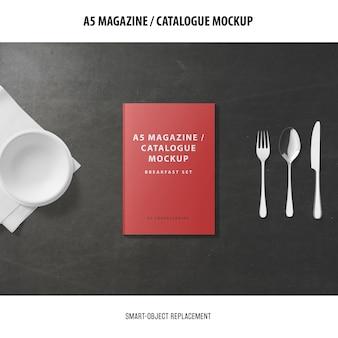 Makieta katalogu okładki a5