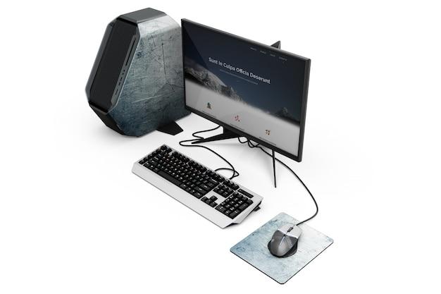 Makieta komputerowa