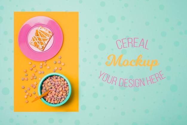 Makieta koncepcja pyszne zbóż