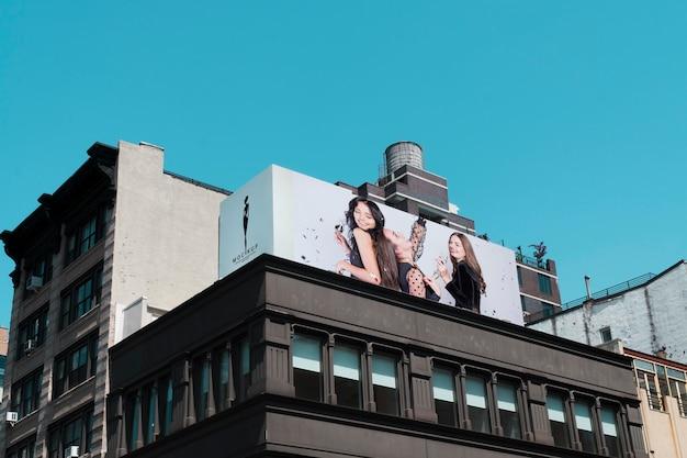 Makieta koncepcja znak billboardu