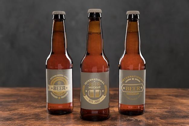 Makieta koncepcji aranżacji piwa rzemieślniczego
