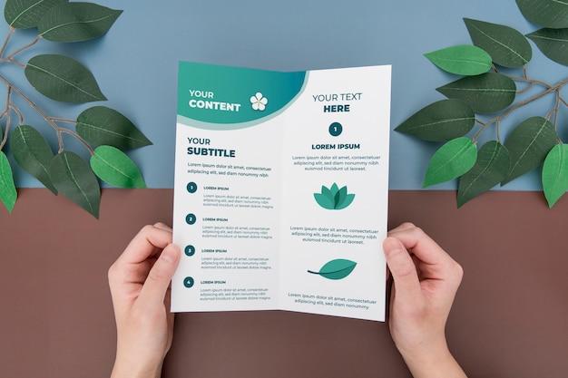 Makieta koncepcji broszury