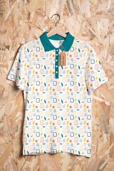 Makieta koncepcji kolorowej koszuli
