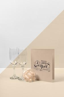 Makieta koncepcji nowego roku