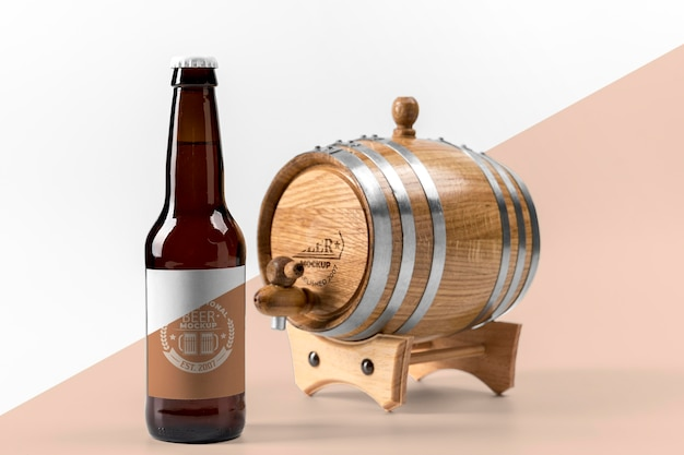 Makieta koncepcji piwa rzemieślniczego
