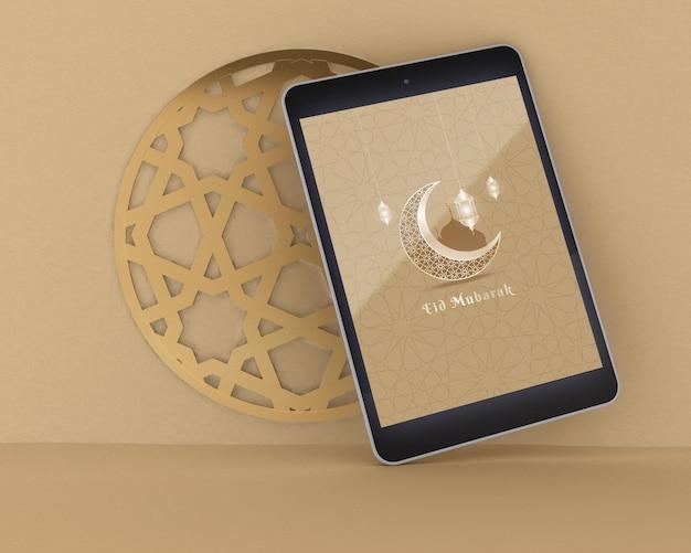 Makieta koncepcji ramadan kareem