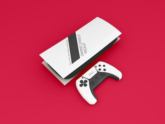 Makieta konsoli do gier