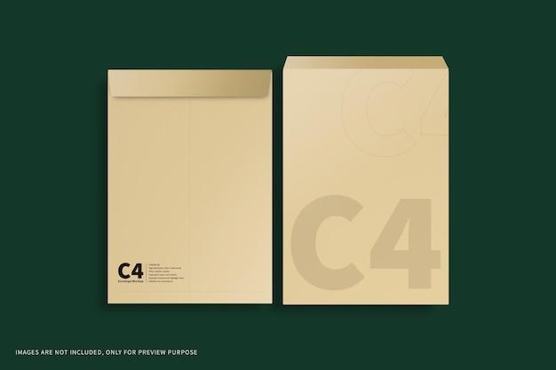 Makieta koperty c4