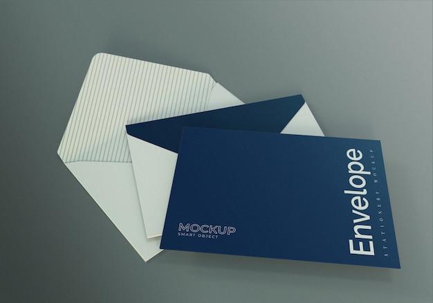 Makieta koperty z potrójnym układaniem