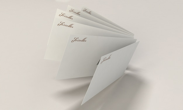 Makieta koperty