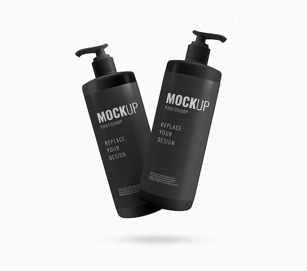 Makieta kosmetyczna reklamowa pompy do butelek