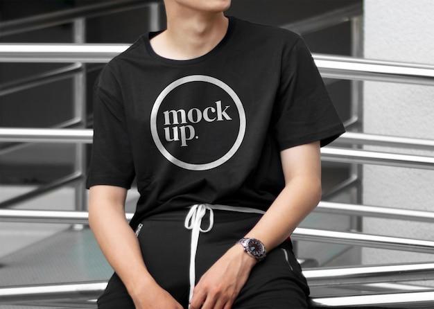 Makieta koszuli mody ulicznej