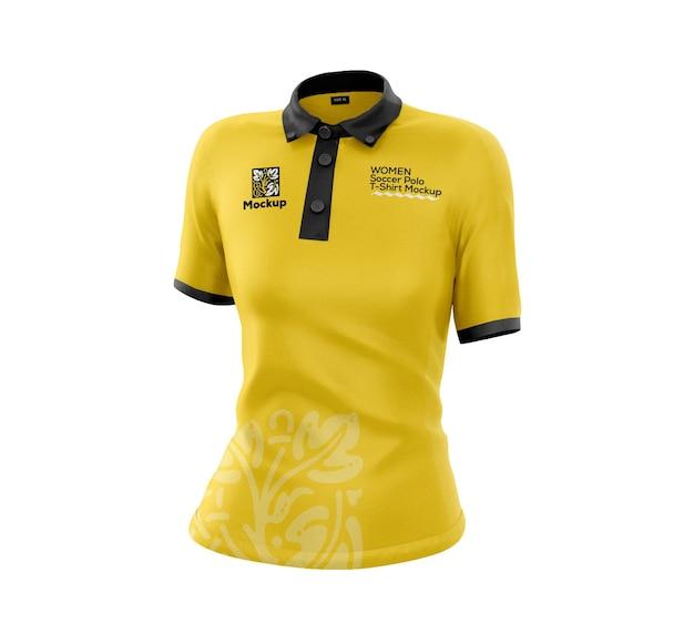 Makieta koszulki piłkarskiej polo