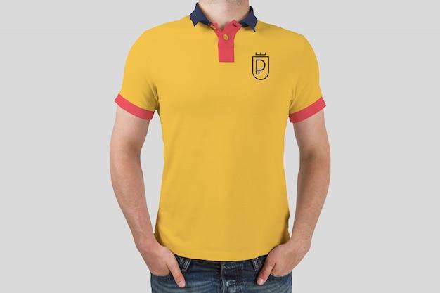 Makieta koszulki polo