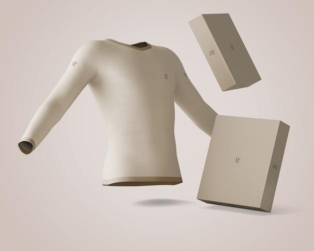 Makieta koszulowa i pudełkowa