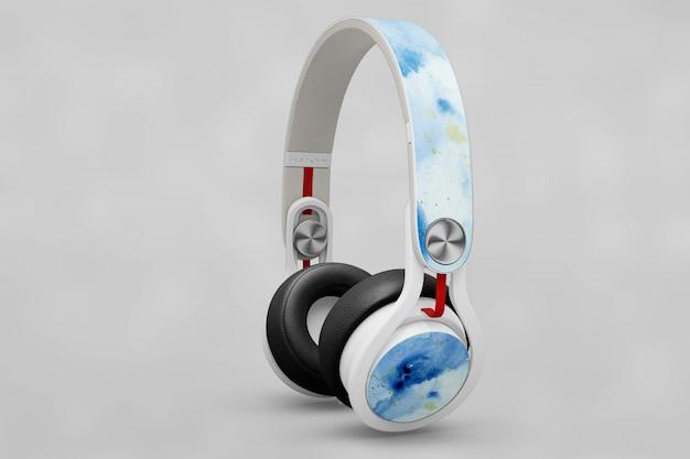 Makieta kreatywnego słuchawek