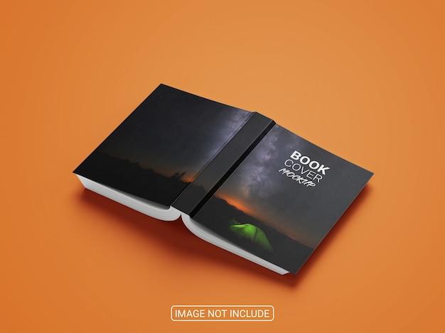 Makieta kreatywnej książki w twardej oprawie