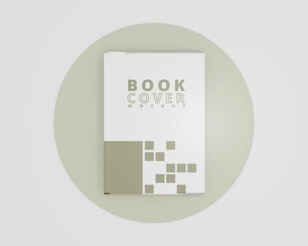 Makieta książki w twardej okładce